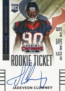2014 Panini Contenders Football Rookie Ticket Autograph Variations Guide 45