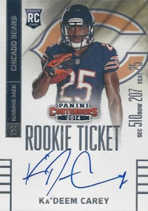 2014 Panini Contenders Football Rookie Ticket Autograph Variations Guide 56