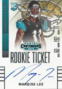 2014 Panini Contenders Football Rookie Ticket Autograph Variations Guide 62