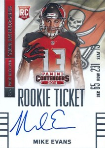 2014 Panini Contenders Football Rookie Ticket Autograph Variations Guide 87