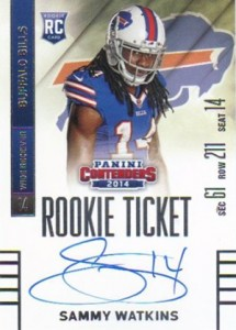 Sammy Watkins Rookie Card Guide and Checklist 30