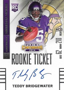 2014 Panini Contenders Football Rookie Ticket Autograph Variations Guide 96