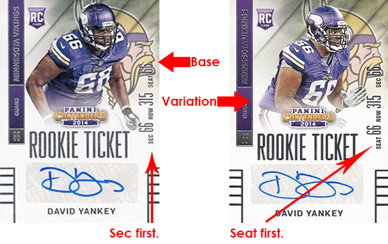 2014 Panini Contenders Football Rookie Ticket Autograph Variations Guide 101