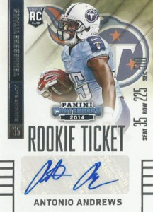 2014 Panini Contenders Football Rookie Ticket Autograph Variations Guide 120