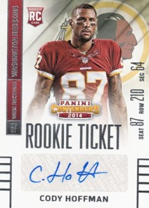 2014 Panini Contenders Football Rookie Ticket Autograph Variations Guide 129