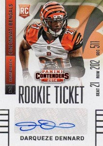2014 Panini Contenders Football Rookie Ticket Autograph Variations Guide 131
