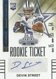 2014 Panini Contenders Football Rookie Ticket Autograph Variations Guide 135