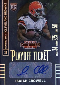 2014 Panini Contenders Football Rookie Ticket Autograph Variations Guide 142