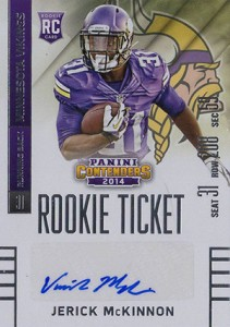 2014 Panini Contenders Football Rookie Ticket Autograph Variations Guide 148