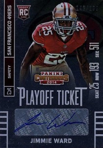 2014 Panini Contenders Football Rookie Ticket Autograph Variations Guide 149