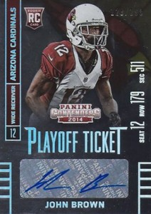 2014 Panini Contenders Football Rookie Ticket Autograph Variations Guide 150