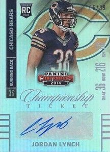 2014 Panini Contenders Football Rookie Ticket Autograph Variations Guide 151