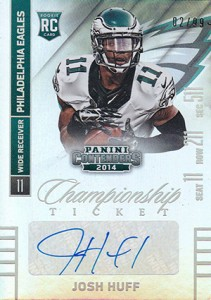 2014 Panini Contenders Football Rookie Ticket Autograph Variations Guide 152