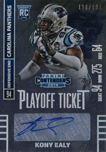 2014 Panini Contenders Football Rookie Ticket Autograph Variations Guide 155