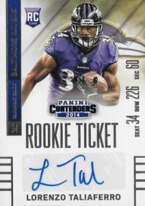 2014 Panini Contenders Football Rookie Ticket Autograph Variations Guide 159