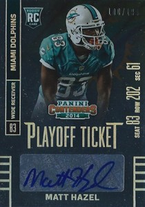 2014 Panini Contenders Football Rookie Ticket Autograph Variations Guide 164