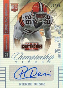 2014 Panini Contenders Football Rookie Ticket Autograph Variations Guide 167