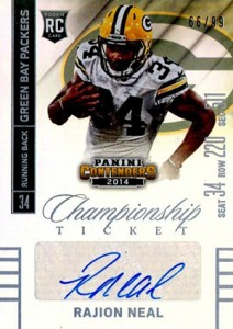 2014 Panini Contenders Football Rookie Ticket Autograph Variations Guide 170