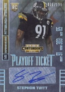 2014 Panini Contenders Football Rookie Ticket Autograph Variations Guide 175