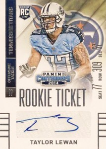 2014 Panini Contenders Football Rookie Ticket Autograph Variations Guide 177
