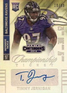 2014 Panini Contenders Football Rookie Ticket Autograph Variations Guide 178