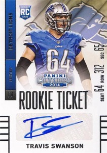 2014 Panini Contenders Football Rookie Ticket Autograph Variations Guide 179