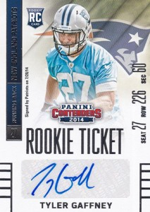 2014 Panini Contenders Football Rookie Ticket Autograph Variations Guide 183