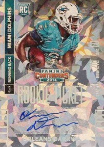 2014 Panini Contenders Football Rookie Ticket Autograph Variations Guide 191