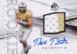 2014 SP Authentic #234 Blake Bortles Autographed Jersey
