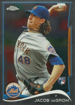 Jacob deGrom Rookie Cards Checklist and Top Prospect Cards 8