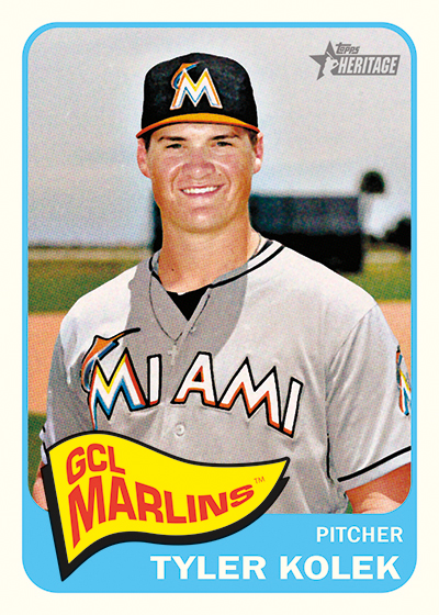 Tyler Kolek, Kyle Schwarber Named 2014 Topps Heritage Minor League Mystery Redemptions 1