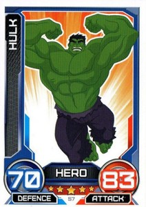 2014 Topps Marvel Hero Attax Series 3 Base