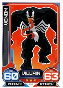2014 Topps Marvel Hero Attax Series 3 Base Villain