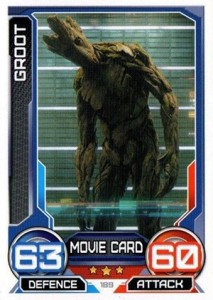 2014 Topps Marvel Hero Attax Series 3 Guardians of the Galaxy Movie Cards