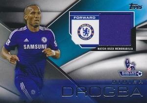 2014 Topps Premier Gold Soccer Relics Drogba
