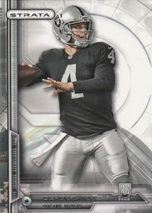 Derek Carr Rookie Card Gallery and Checklist 29