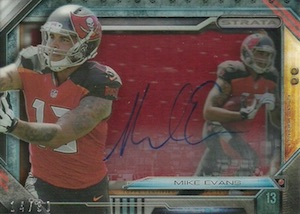 2014 Topps Strata Football Signature Relics Mike Evans