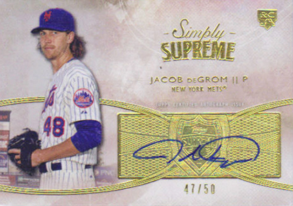 Jacob deGrom Rookie Cards Checklist and Top Prospect Cards 15