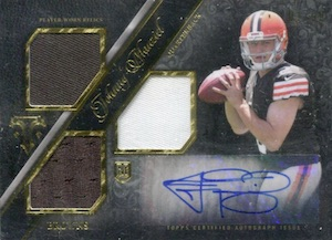 Johnny Manziel Cards, Rookie Cards, Key Early Cards and Autographed Memorabilia Guide 22