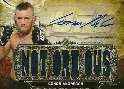 Top 10 Conor McGregor Cards 8