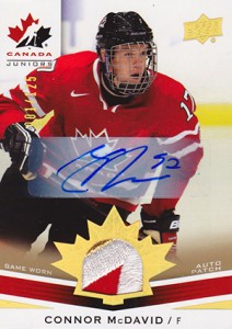 4cb746d42 Connor McDavid Cards - Collecting Hockey's Next Big Thing 5