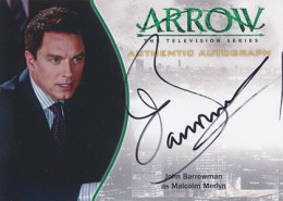 2015 Cryptozoic Arrow Season 1 Autographs Guide 17