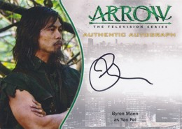 2015 Cryptozoic Arrow Season 1 Autographs Guide 18