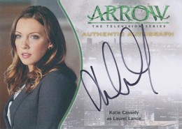 2015 Cryptozoic Arrow Autographs A2 Katie Cassidy