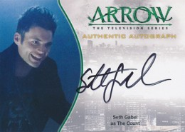 2015 Cryptozoic Arrow Season 1 Autographs Guide 22