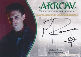 2015 Cryptozoic Arrow Season 1 Autographs Guide 11