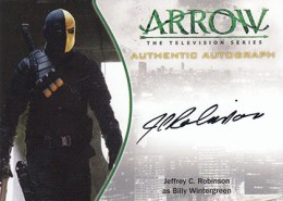 2015 Cryptozoic Arrow Season 1 Autographs Guide 12
