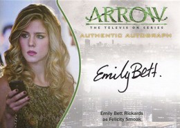 2015 Cryptozoic Arrow Season 1 Autographs Guide 15