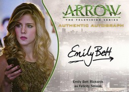 2015 Cryptozoic Arrow Season 1 Trading Cards 25