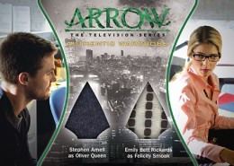2015 Cryptozoic Arrow Season 1 Trading Cards 30
